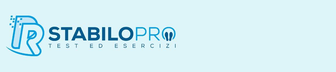Stabilo Pro: Software per la registrazione dei dati stabilometrici