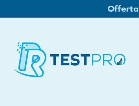 Offerta Test Pro – Software per allenatori, preparatori, palestre società sportive, personal trainer