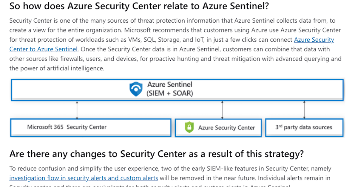 Securing the hybrid cloud with Azure Security Center and Azure Sentinel