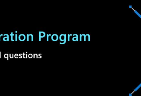 Azure Migration Program Customer